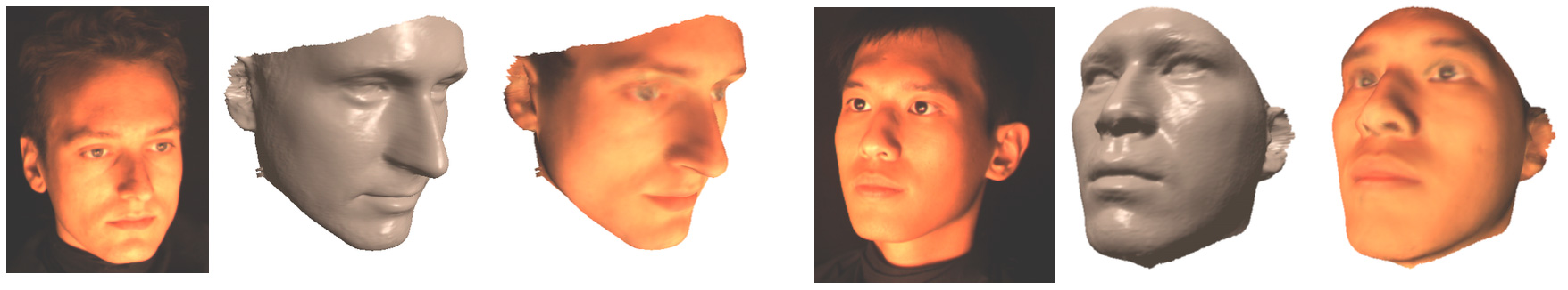 Silhouette-Based 3D Face Shape Recovery
