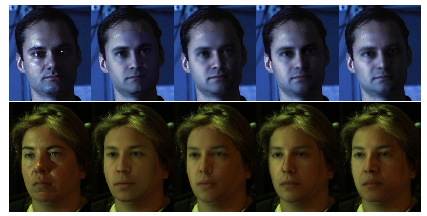Estimation of 3D Faces and Illumination from Single Photographs Using a Bilineaur Illumination Model