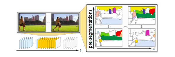 Multiple Hypothesis Video Segmentation from Superpixel Flows