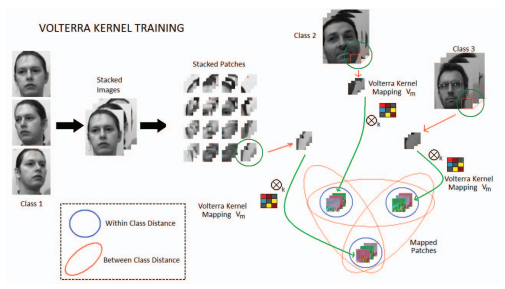 Trainable convolution filters and their application to face recognition