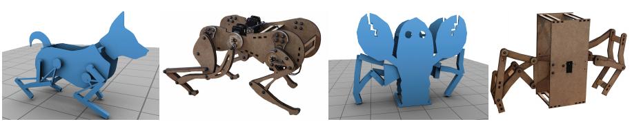 Computational Design of Walking Automata