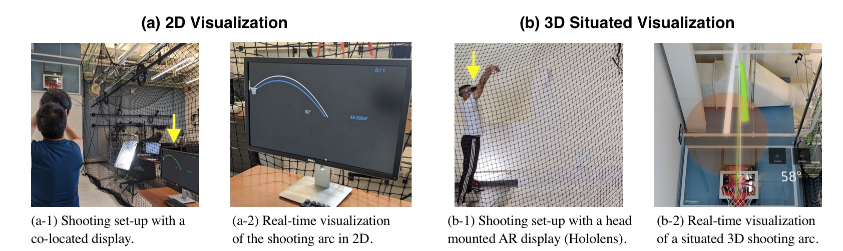 Towards an Understanding of Situated AR Visualization for Basketball Free-Throw Training